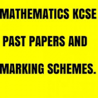 MATHEMATICS K. C. S. E PASTPAPERS & ANSWERS