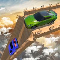 Mega Ramp Car Stunt Games - Crazy Impossible Track
