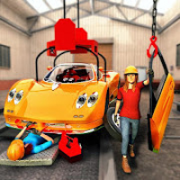 Modern Car Builder 2019: Real Car Mechanic Games