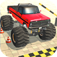 Monster Truck Driving Game: Parking Games 2020