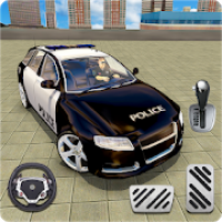 Multi Level Police Car Parking : Free Car Games