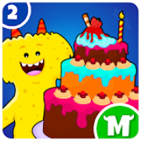 My Monster Town: Restaurant Cooking Games for Kids