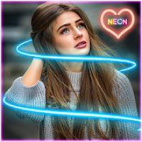 Neon Light Effect Photo Editor