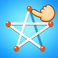 One Drawing Puzzle - Draw one touch line games