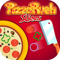 PizzaRush Slices: Perfectly Food Chopping Dash