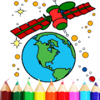 Planet Coloring Book | Space Coloring Game FREE