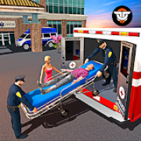 Police Ambulance Rescue Driving: 911 Emergency