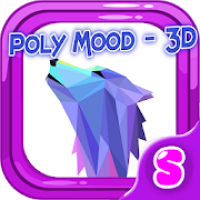 Poly Mood - 3D puzzle sphere: create, color, relax