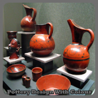 Pottery Design With Colour