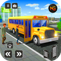 Real High School Bus Driver: Offroad Bus Driving