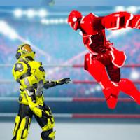 Robot Ring Fight Battle: Robots Fighting Games