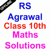 RS Aggarwal Class 10 Maths Solutions [ OFFLINE ]
