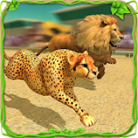 Savanna Animal Racing 3D