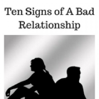 Signs of a bad relationship