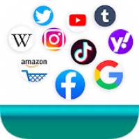 Social Media Apps All in One - Social Web Browser