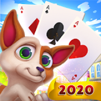 Solitaire Pets Adventure - Free Classic Card Game