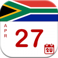 South Africa Calendar - Holiday & Note (2020)