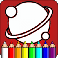 Space coloring for kids 🌘 Planet Coloring Pages