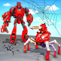 Spider Robot Car Transform Action Games