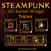 Steampunk GO Switch Widget