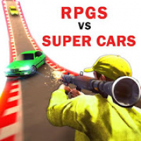 Superhero cars lightning : RPGS vs Supercars