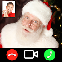 Talk with Santa Claus on video call (prank)