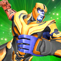 Thanos Against Evil: Vice Town Super Hero Fighter