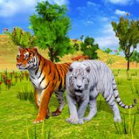 Tiger Simulator: Animal Family Survival Game