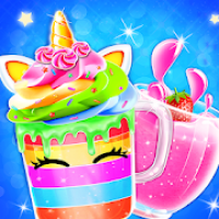 Unicorn Milkshake Maker: Frozen Drink Games