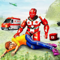US Army Robot Hero Ambulance Rescue Mission