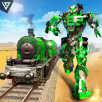 US Army Transforming Robot Train Shooter 2020