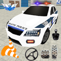 US Police Car Parking: Free Parking Games