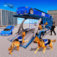 US Police Limo Transporter Game: Transport tycoon