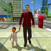 Virtual Dad Happy Family Simulator 2020 - Mom Dad