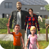 Virtual Mother Happy Housewife Family Game