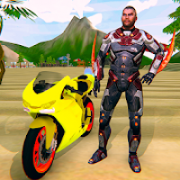 Water Beach Bike Racer: Motocross Dirt Bike Stunts