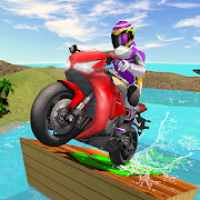 Water Surfer Bike Beach Racing