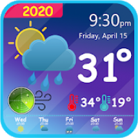 Weather Live Forecast & Clock Widget