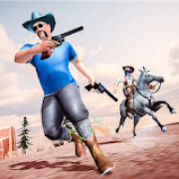 Western Cowboy Gun Fighter Gang Shooting Game 3D
