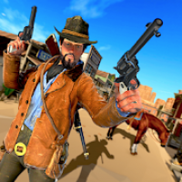 Western Cowboy Gunfighter - Cowboy Shooting Game